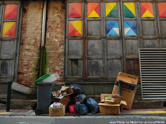 ordure rue