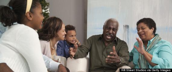 grandparent telling story