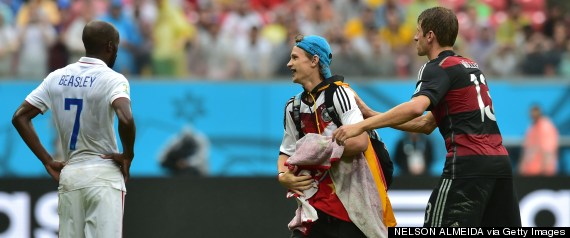 german fan who invaded the pitch