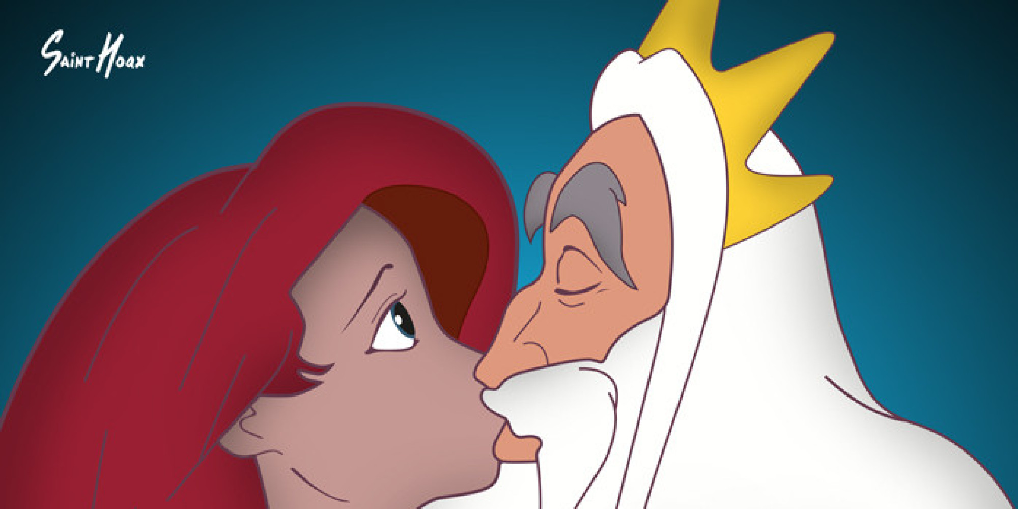 These Disturbing Posters Put Together Incest And Disney Princesses For Rape Awareness