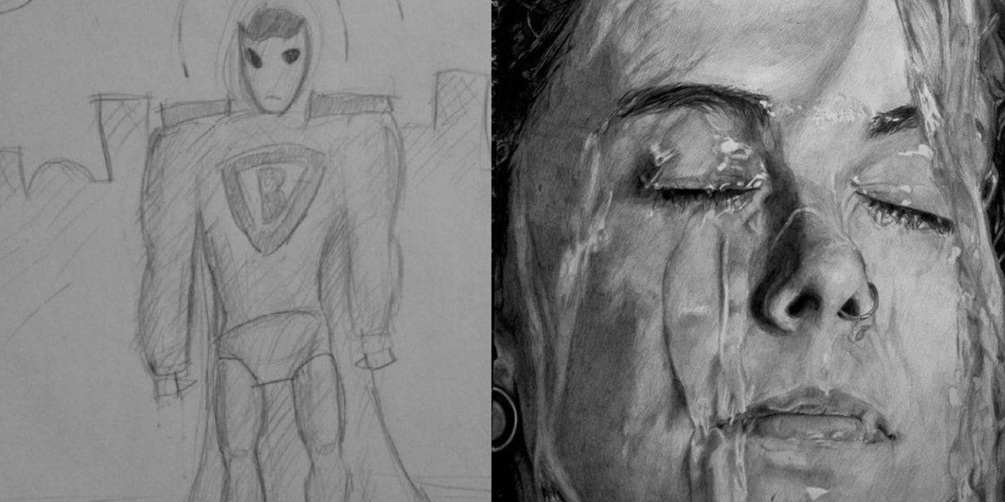 These Amazing Before-And-After Drawings Show The Real ...