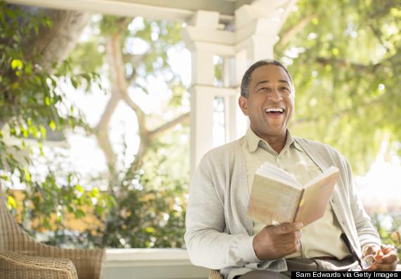 laugh reading book