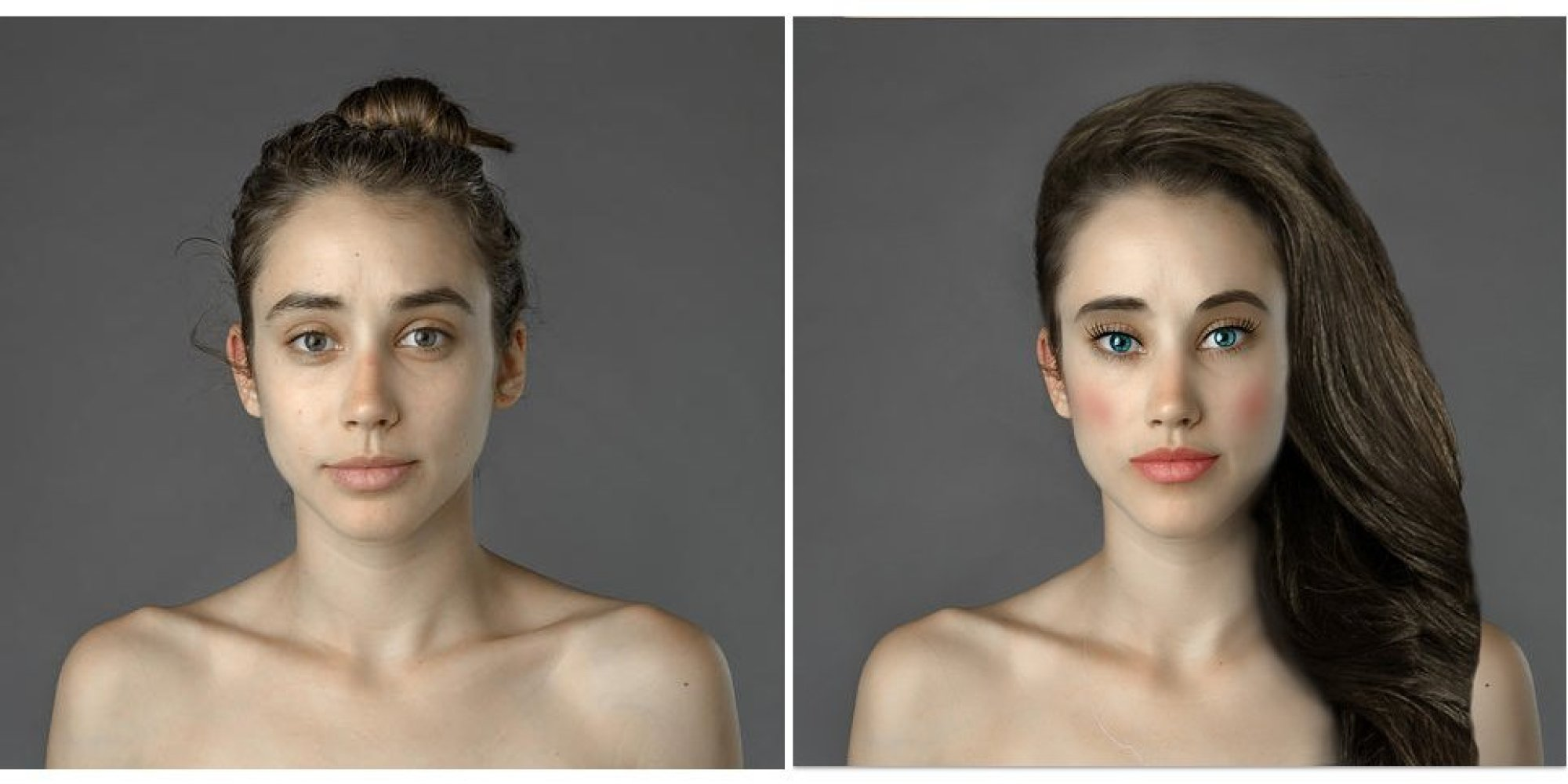 Как сделать тело идеальным в фотошопе