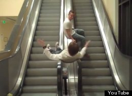 WATCH: People Vs Escalators