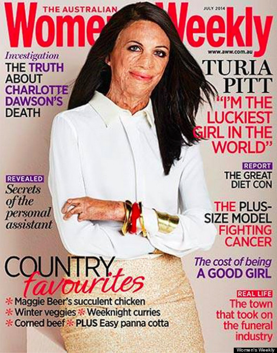 magazine article ideal women married