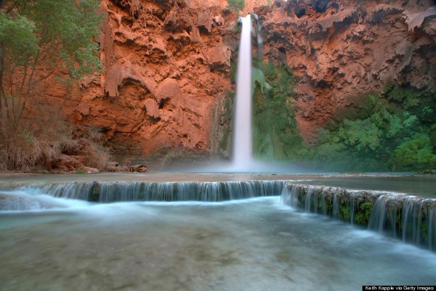 grand canyon waterfalls