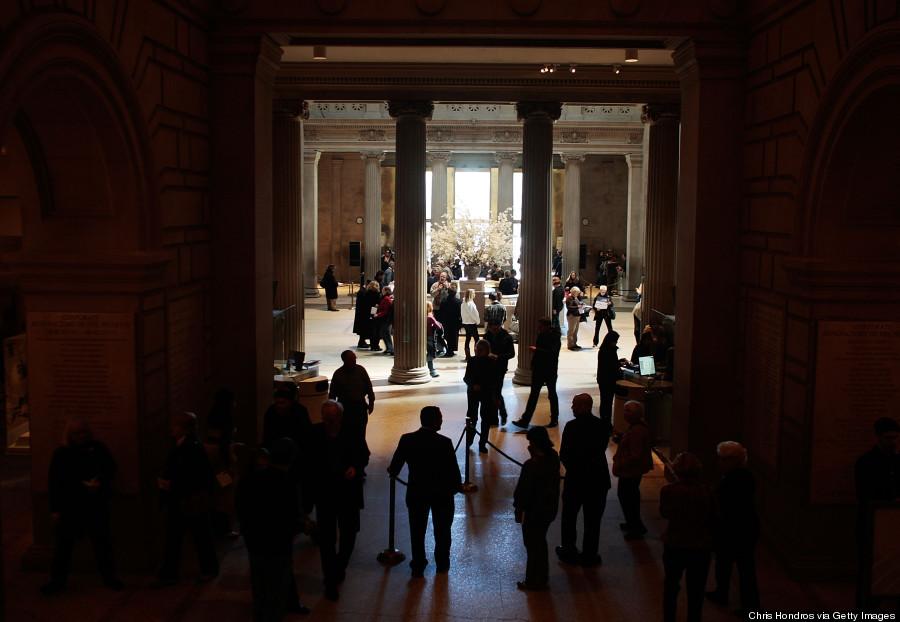 metropolitan museum of art lobby