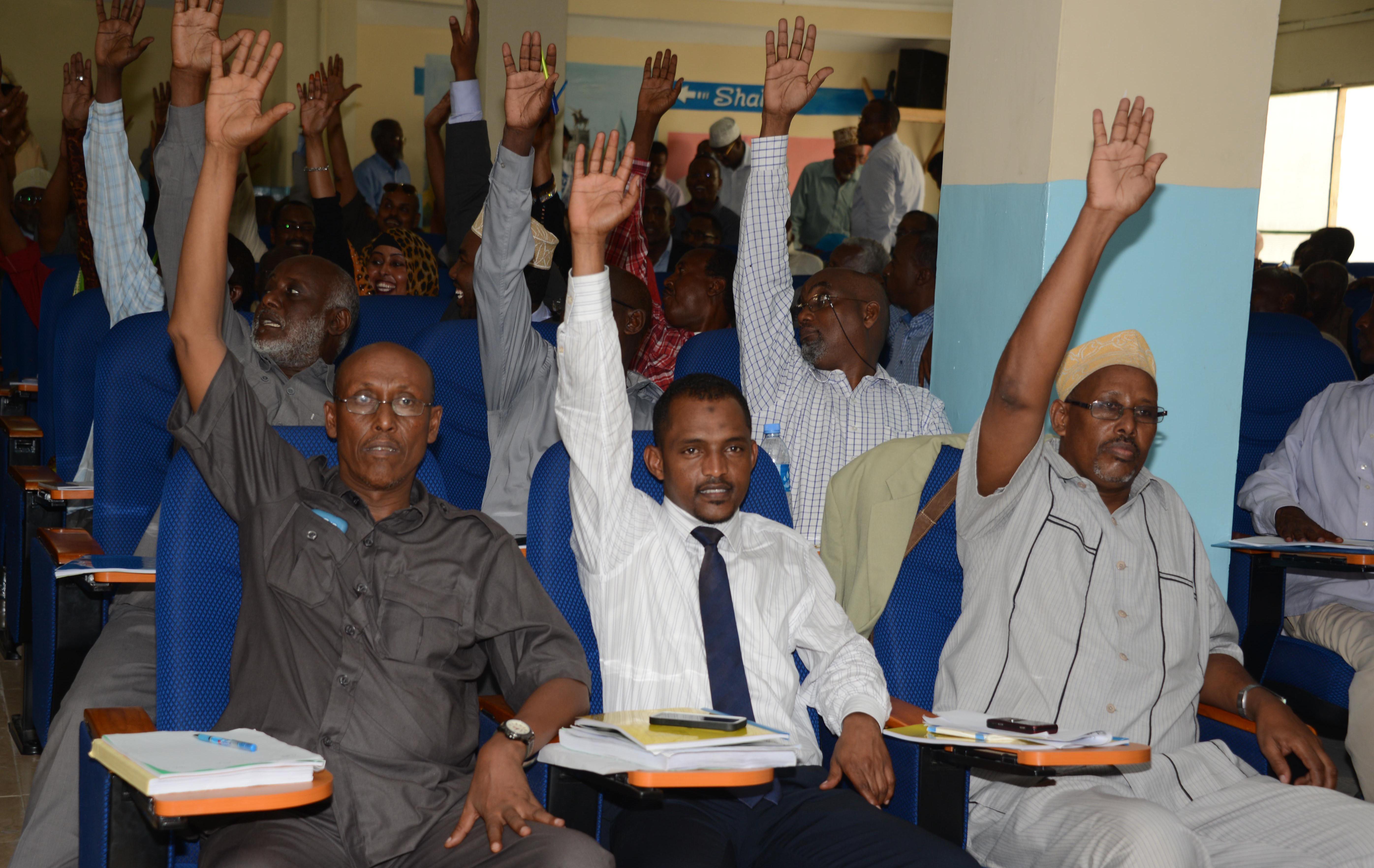 somalia parliament