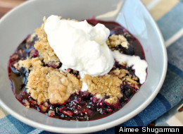 How To Make Blueberry Crisp For The Best Summer BBQ