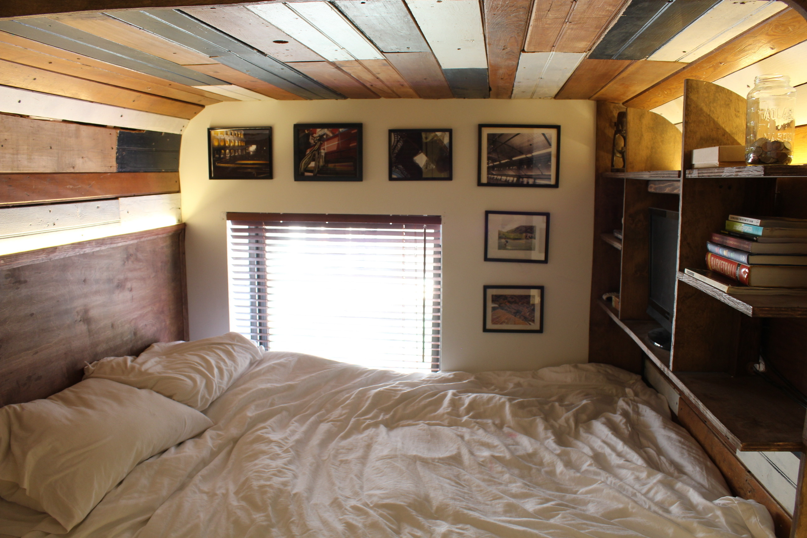 attic rooms decoration ideas - Watch This Tiny Studio Transform Into A Two Bedroom