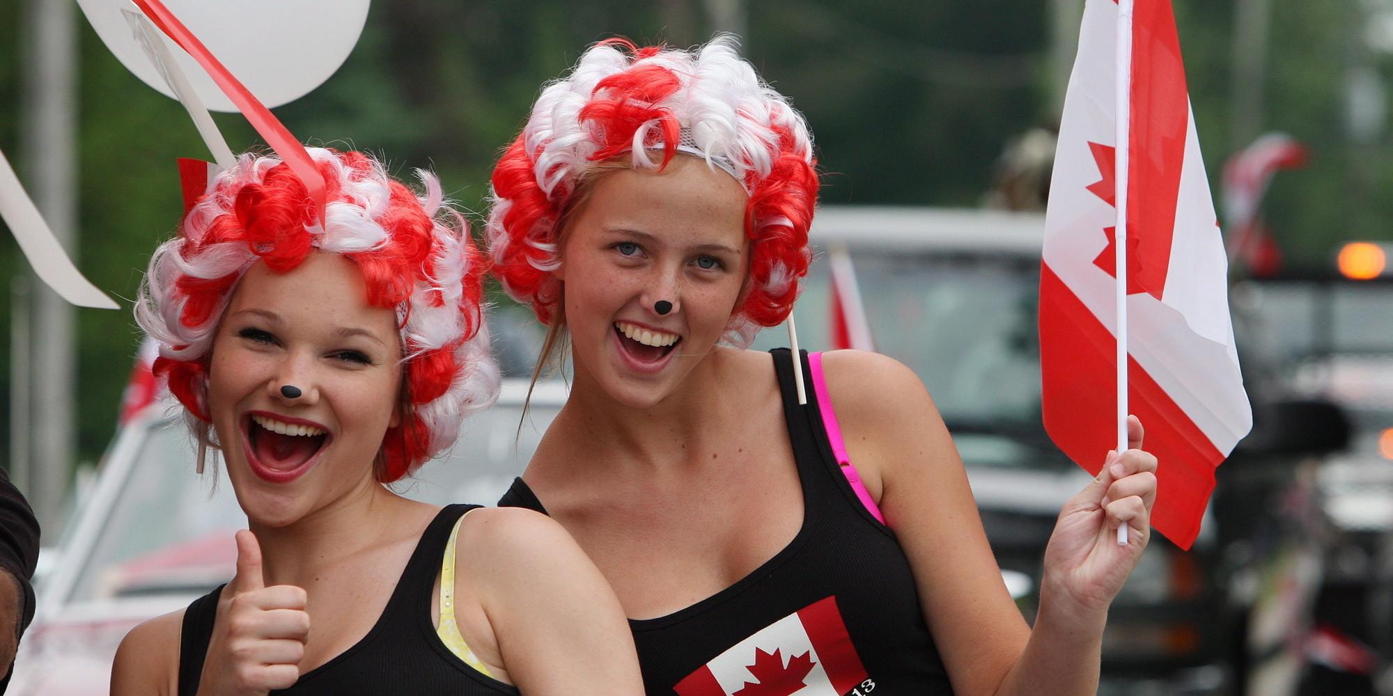 Celebraciones por el día de Canadá en Montreal y Q...