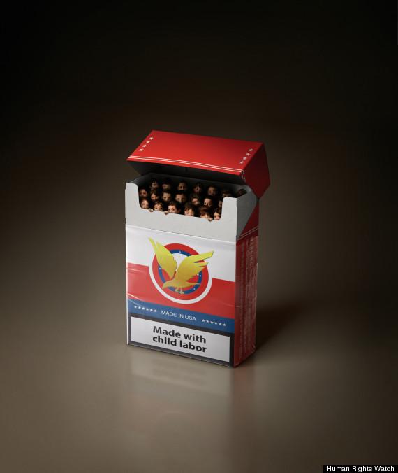tobacco farming children