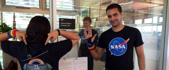 NASA GAY PRIDE DEBUT