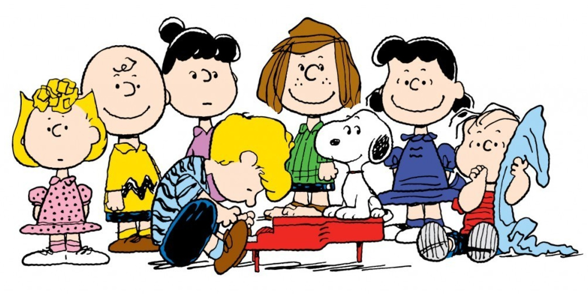 Image result for peanuts characters images