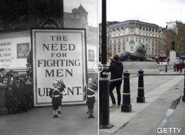 Los escenarios de la I Guerra Mundial antes y ahora (FOTOS)