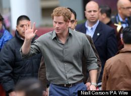 Prince Harry Becomes Family's TV Repair Man'