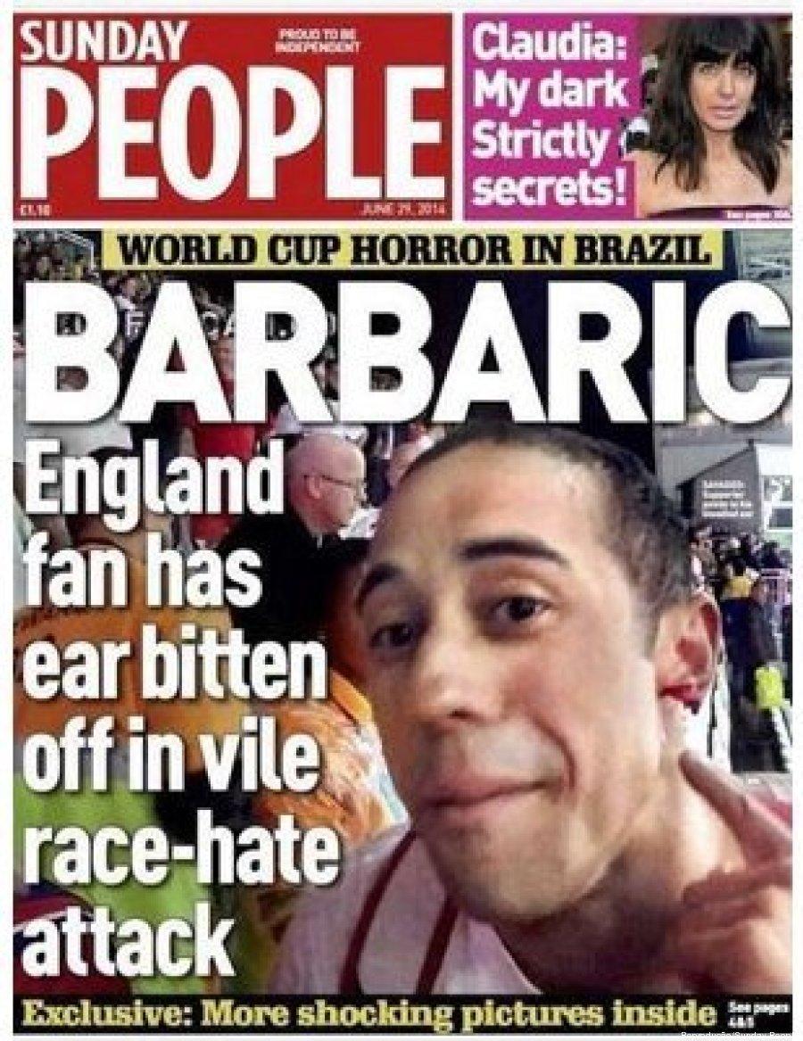 ataque racista na copa