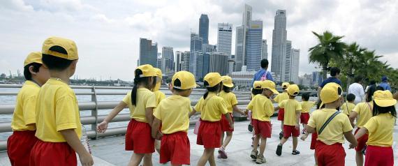 SINGAPORE SCHOOL CHILDREN