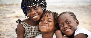 Smiling African Children