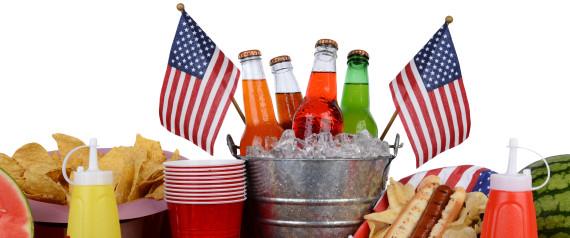 AMERICAN FLAG FOOD