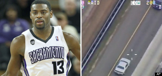 Tyreke Evans Speeding Video