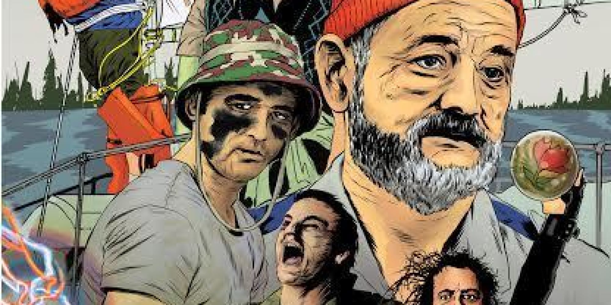 Let Your Love For Bill Murray Runneth Over With This Murricane-Themed Art Show