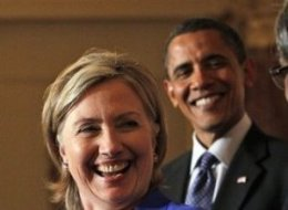 Obama Clinton Ticket 2012
