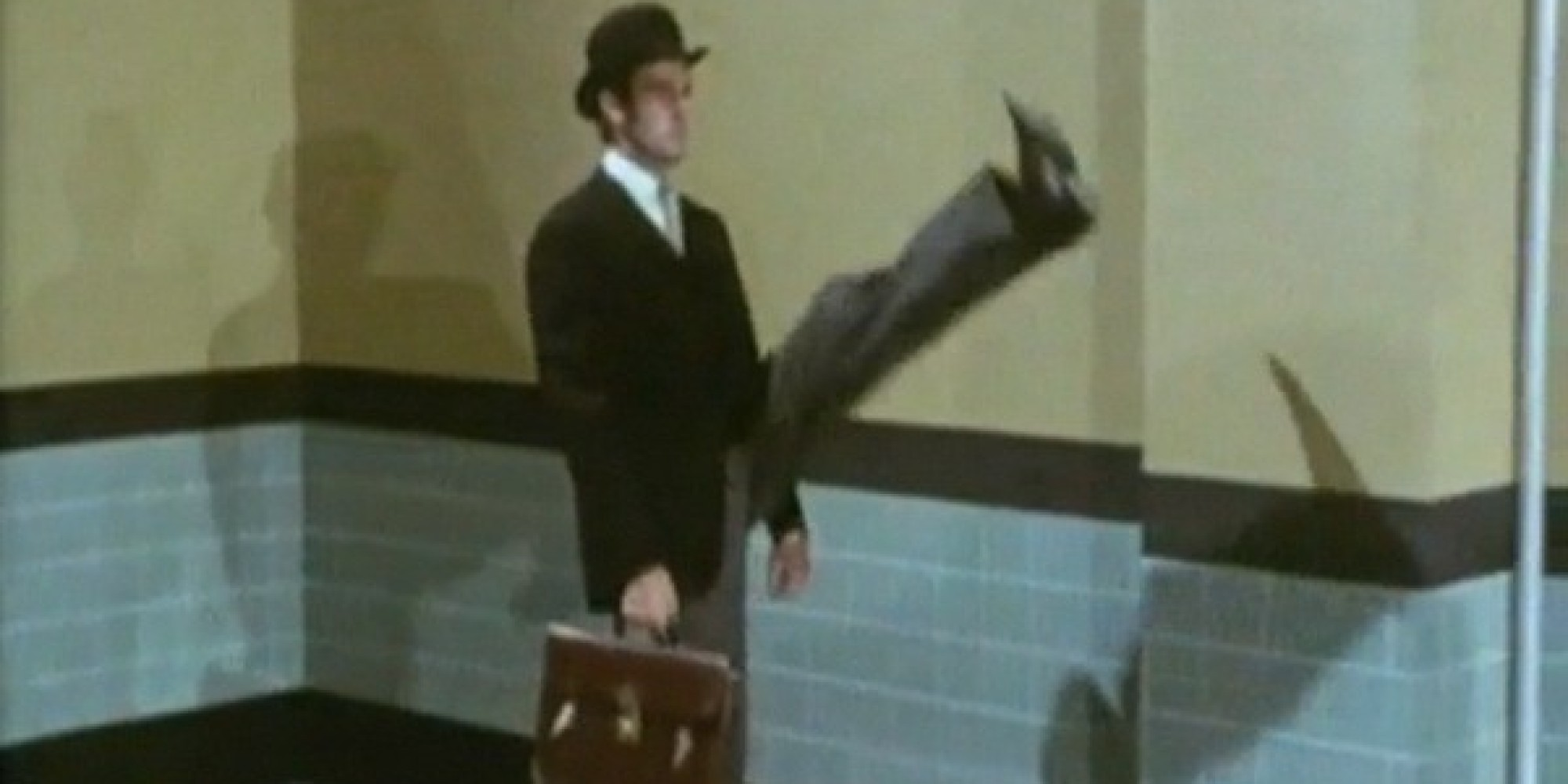 John cleese s ministry of silly walks not on the bill the