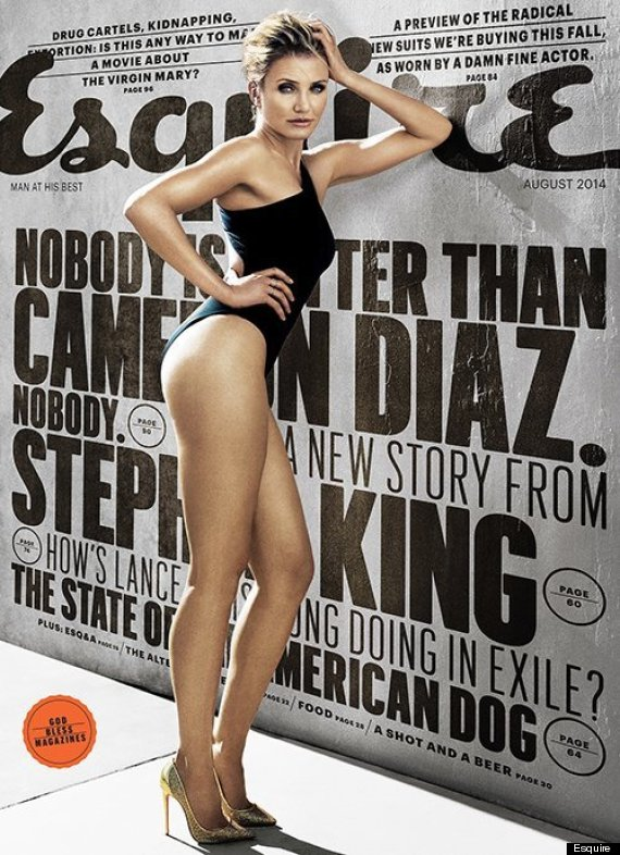cameron diaz opens up to esquire about getting naked for