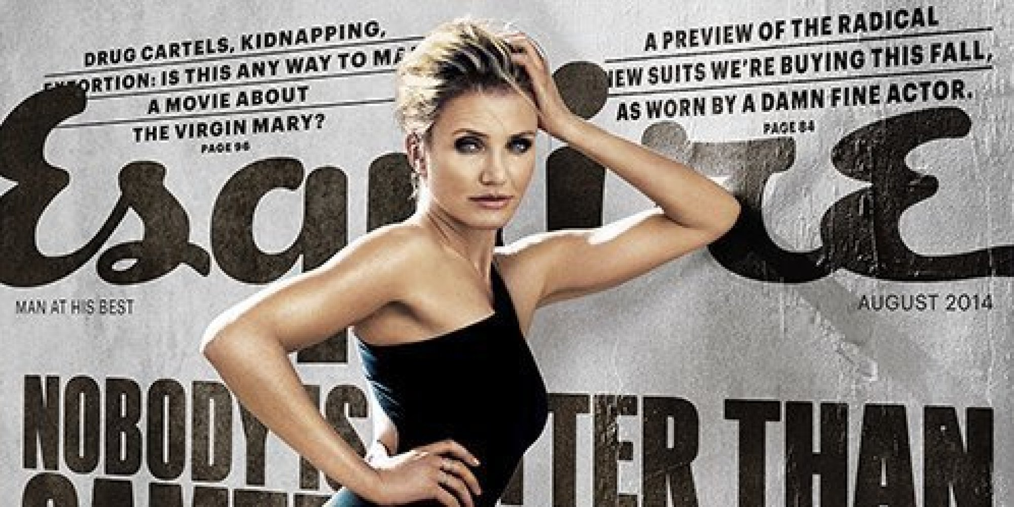 Cameron Diaz Opens Up To Esquire About Getting Naked For ... Cameron Diaz Pregnant 2019 Adoption
