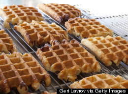 Maple-Glazed Waffles Are a Sweet Way to Start Your Day