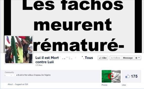 facebook drapeau