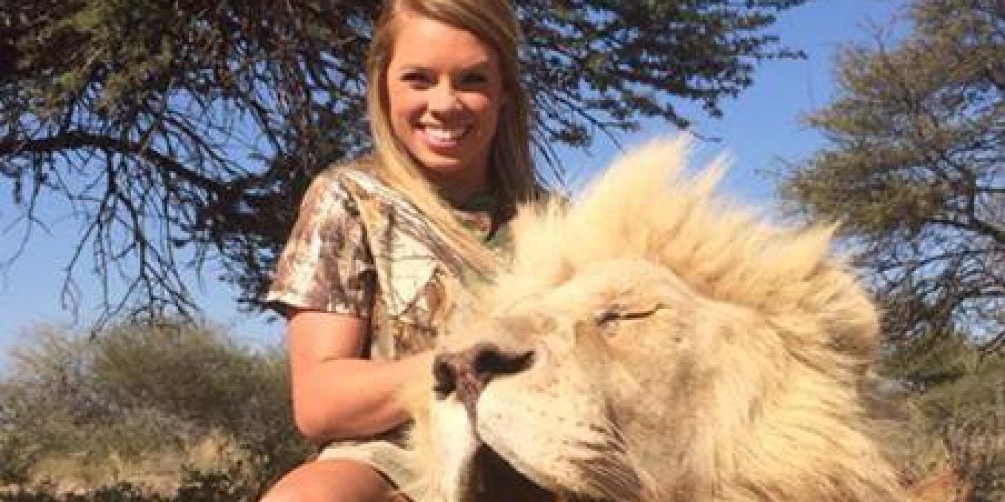 Meet The Texan Cheerleader Who Hunts Exotic Animals