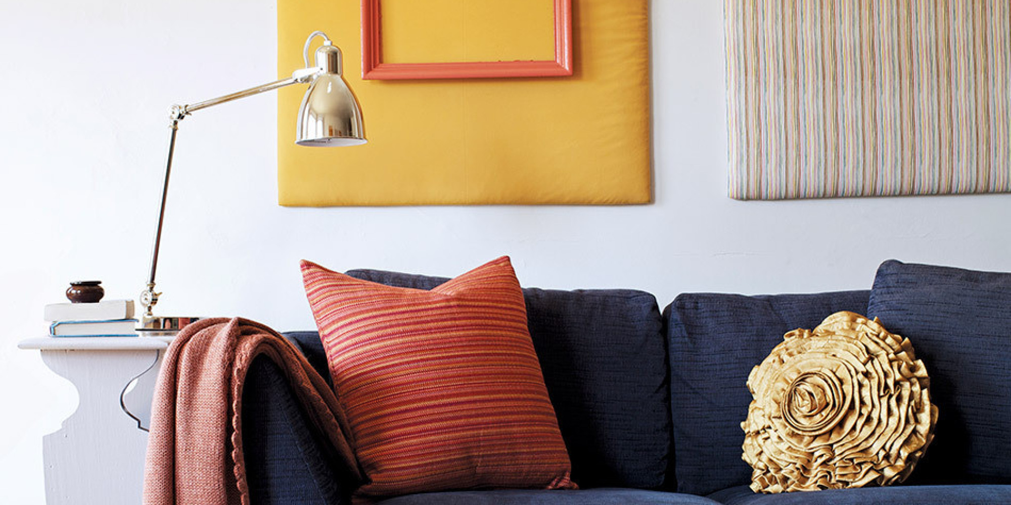 6 apartment makeover hacks that wont annoy your landlord huffpost - Apartment Rental Decorating Ideas