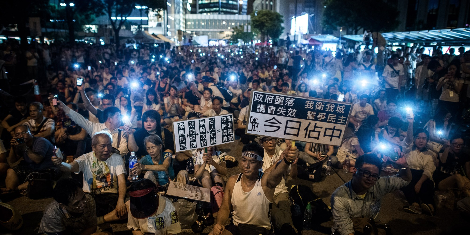 10 Striking Images From Hong Kong S Pro Democracy Protests