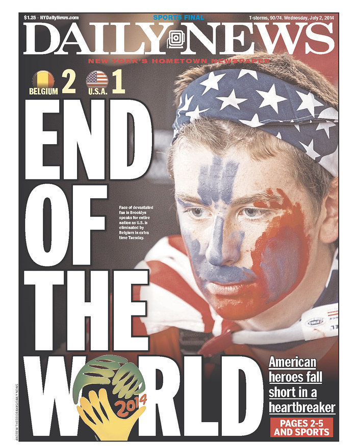 world cup front page