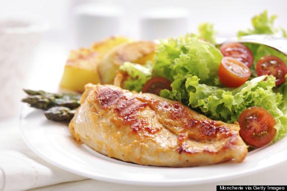 healthy chicken dish