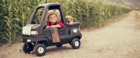AMERICAN FLAG PUPPY