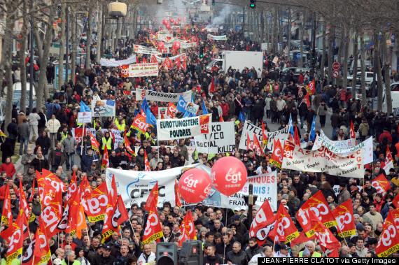 france protest large
