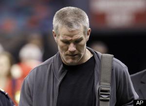 Brett Favre Retiring