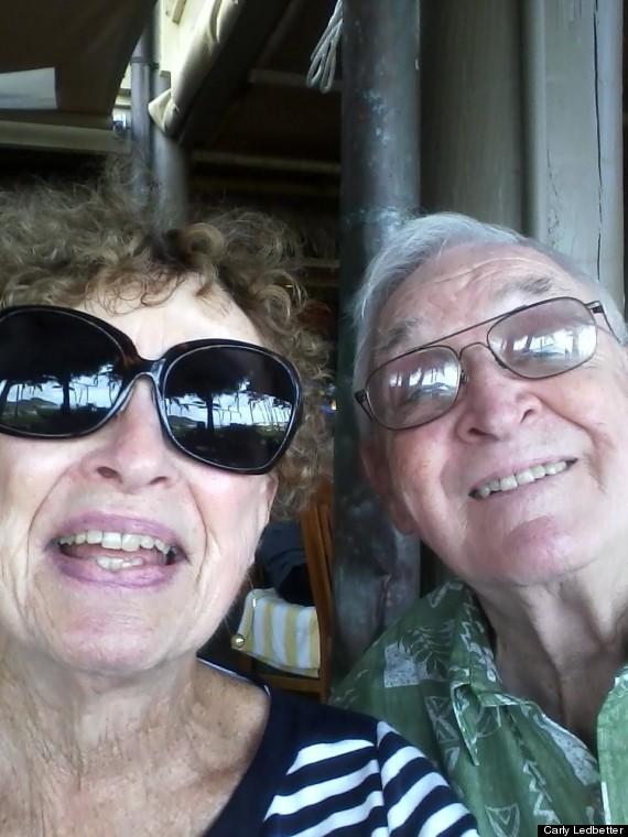 grandparent selfie