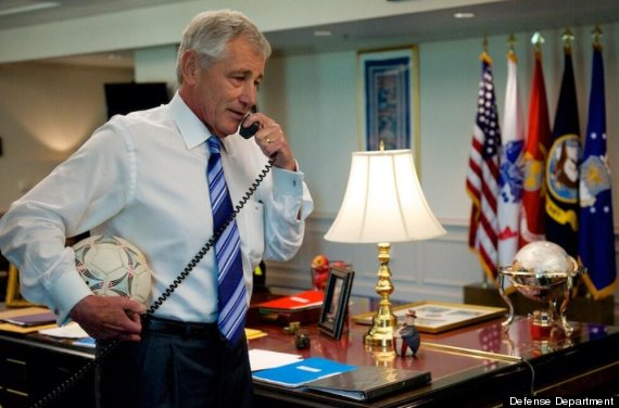 chuck hagel tim howard
