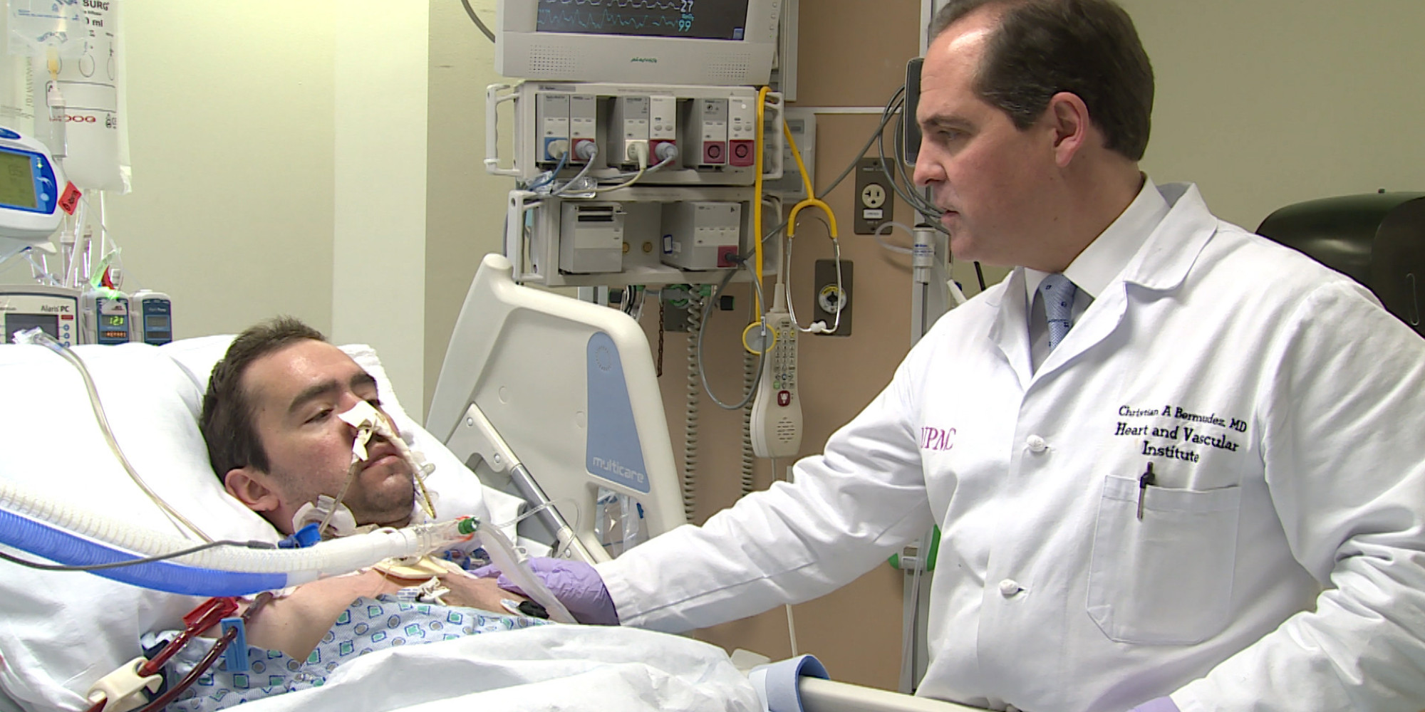 Health Company CEO Personally Drives Across Border To Save A Patient's Life