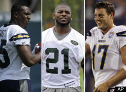 Ladanian Tomlinson Philip Rivers Antonio Gates