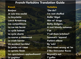 A French-Yorkshire Translation Guide For Le Tour Yorkshire