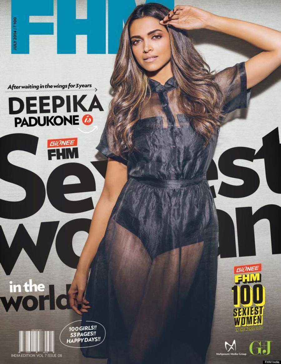 Deepika Padukone Is FHM India's Sexiest Woman In The World