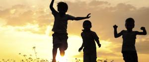 Kids Playing Summer