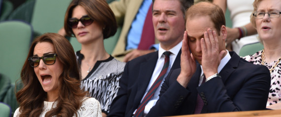 KATE WILLIAM TENNIS WIMBLEDON