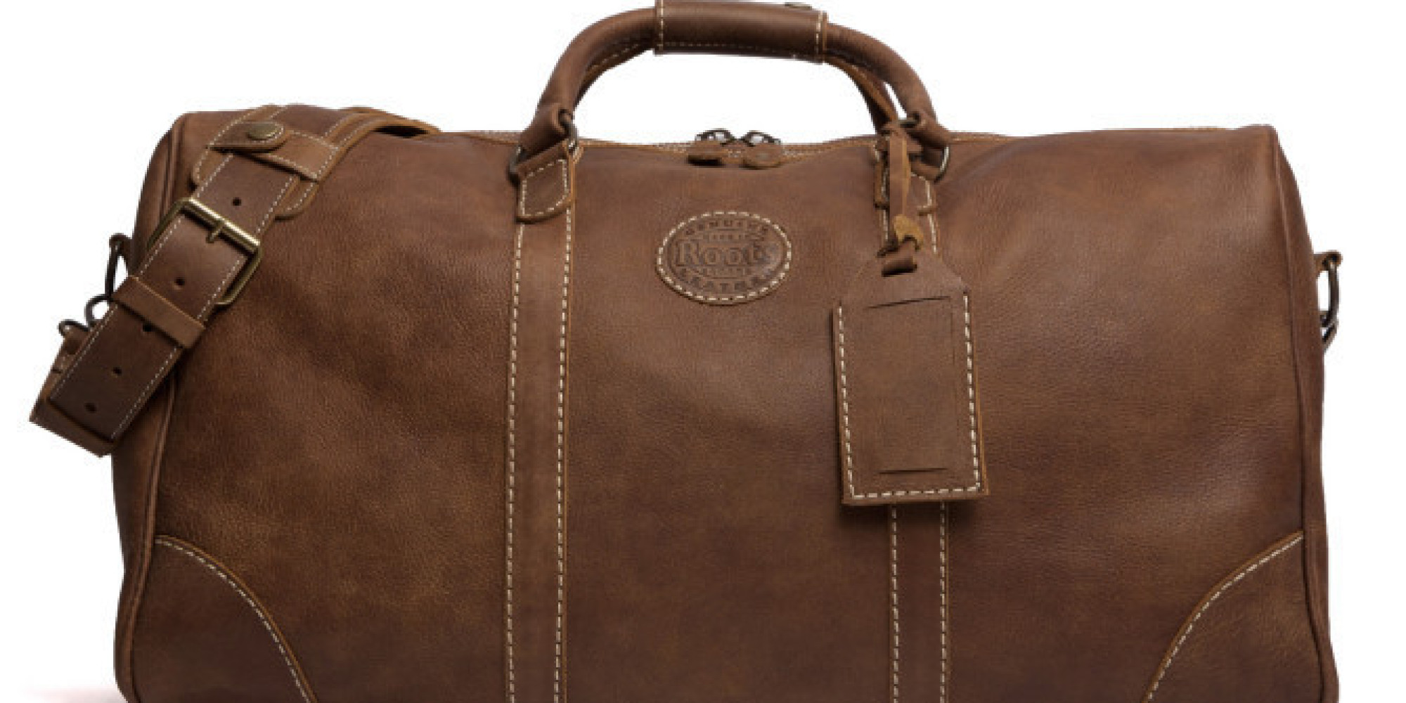Roots Leather Travel Bag 59