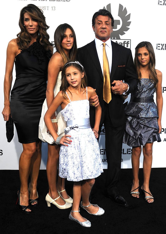 Sylvester Stallone Wife Jennifer Flavin